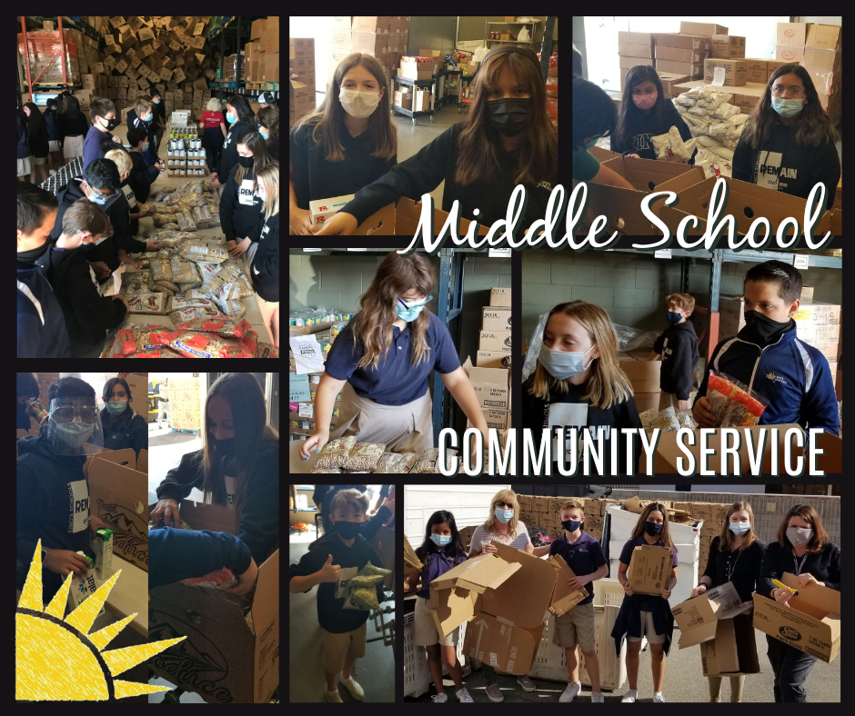 Middle School Community Service