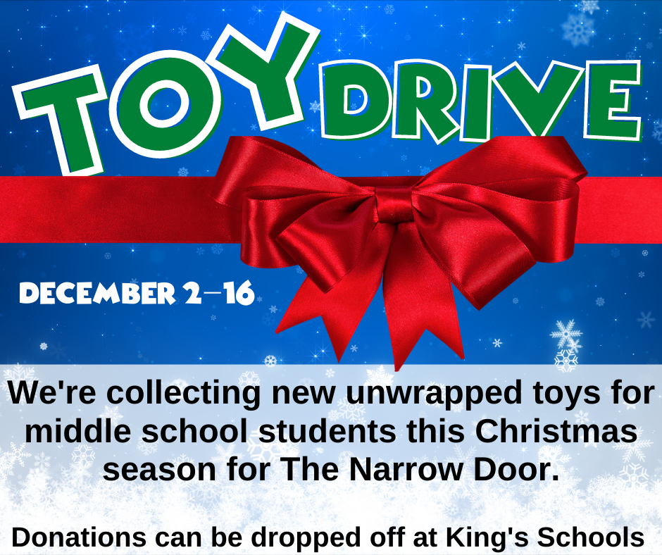 Middle School Toy Drive